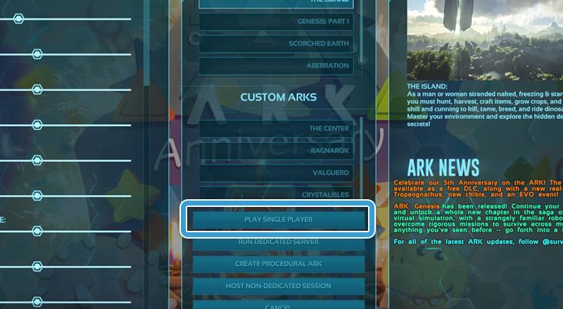 Tilslut din ARK-server hos Nice-Hosting med Epic Games