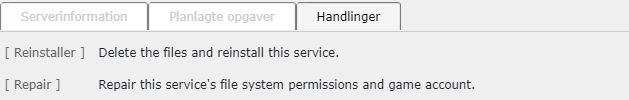 Nulstil din ARK server hos Nicehosting