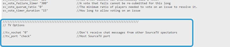 CS:GO GOTV Indstillinger på din CSGO server hos NiceHosting