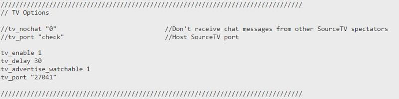 Dine GOTV indstillinger til din CS:GO server hos Nice-Hosting.dk