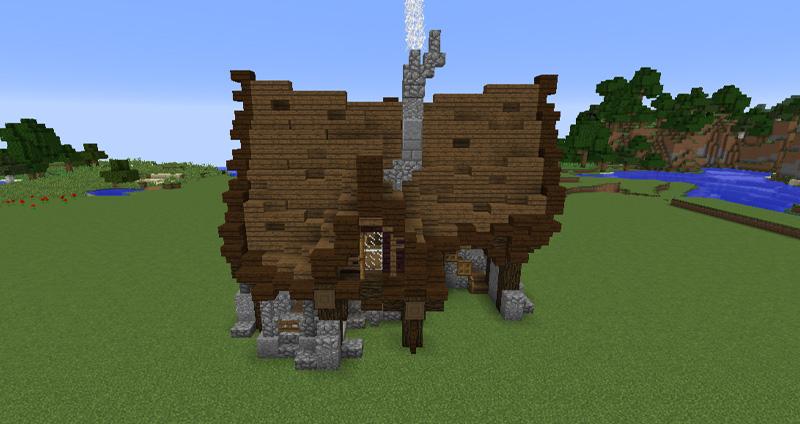 Et minecraft Hus - Nice-Hosting