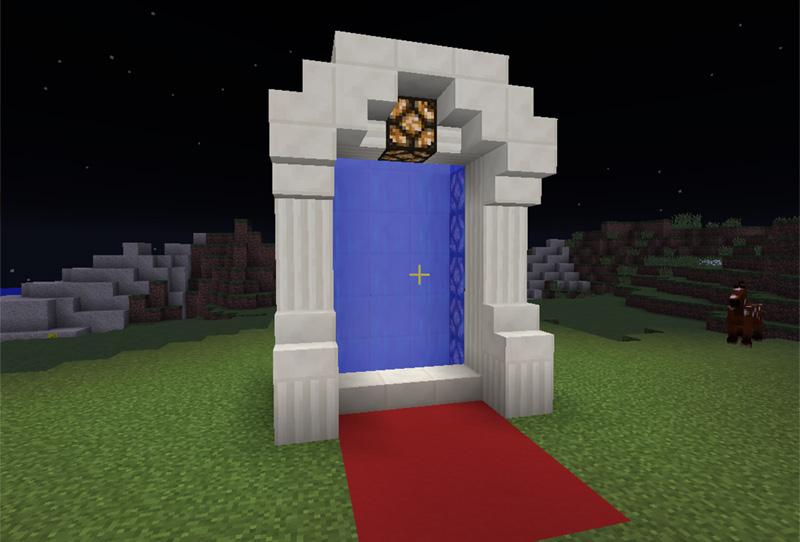 Portal til din anden verden på din minecraft server hos Nice-Hosting