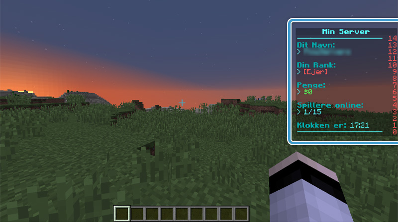 Scoreboard plugin Nice-Hosting