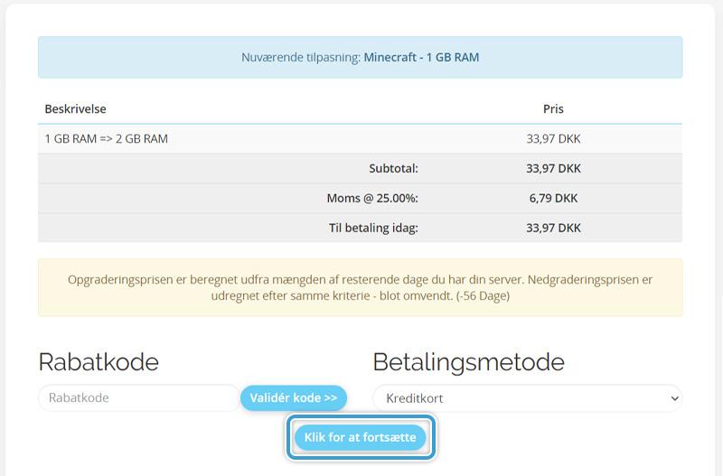 Gennemfør din opgradering af RAM hos Nice-Hosting